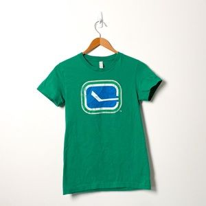 American Apparel Vancouver Canucks NHL Cotton Tee